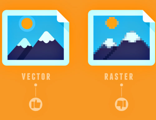 Blurry image? The difference between vector and raster