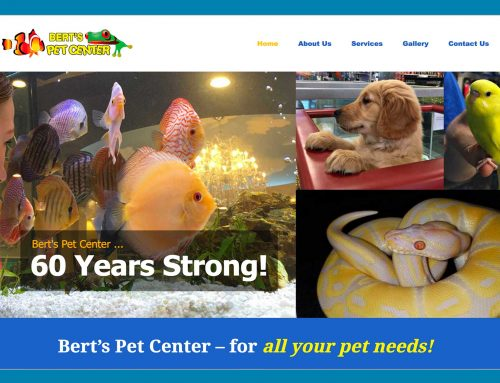 Bert's Pet Center