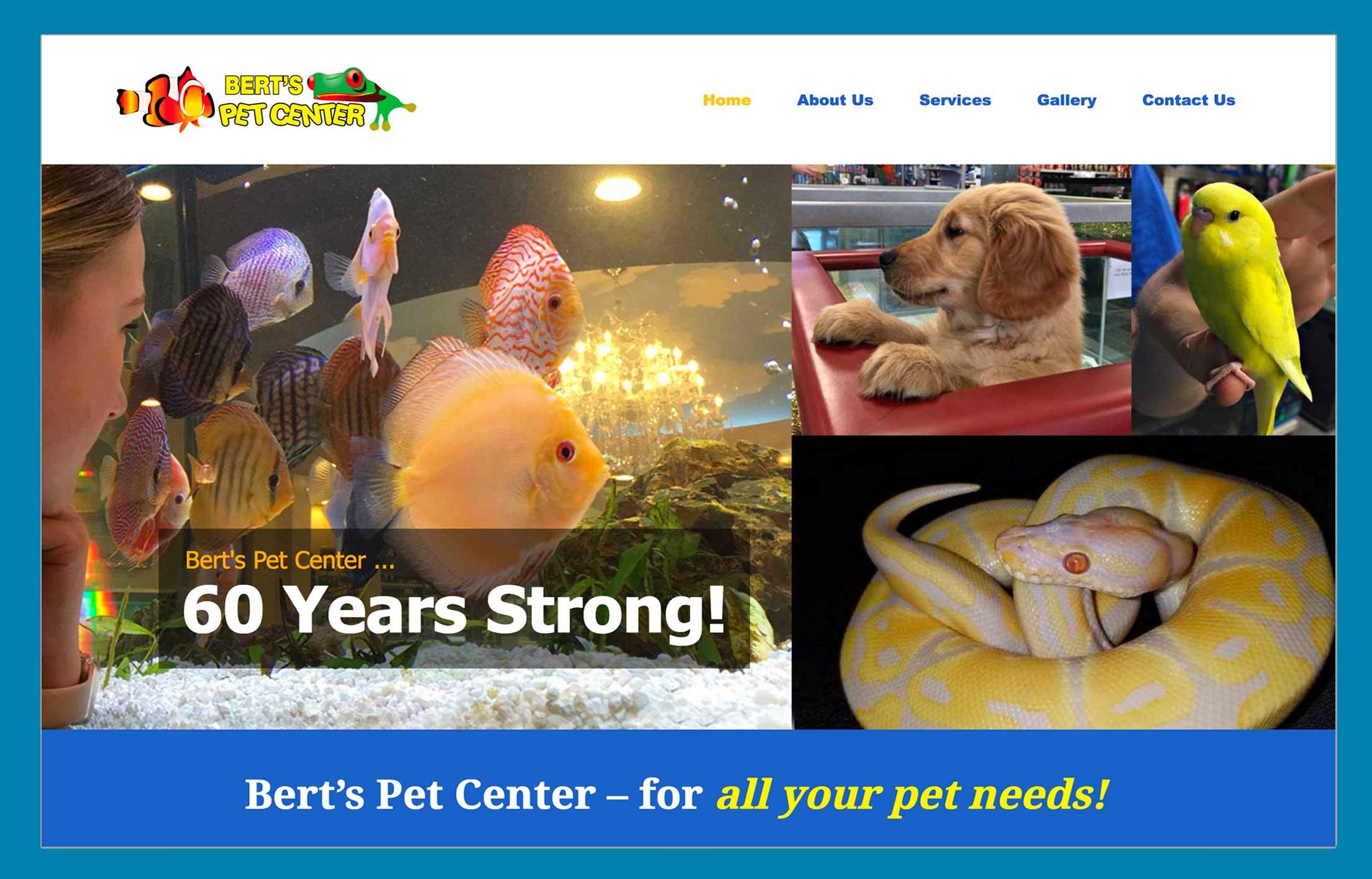 Bert Pet Center